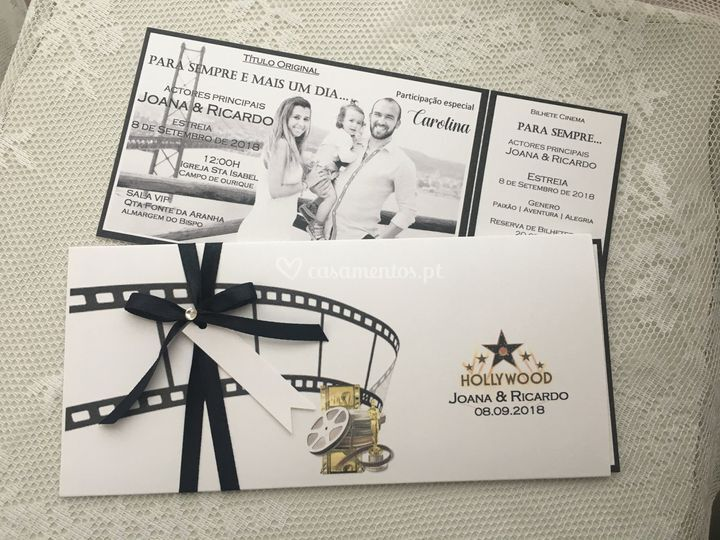 Convite hollywood