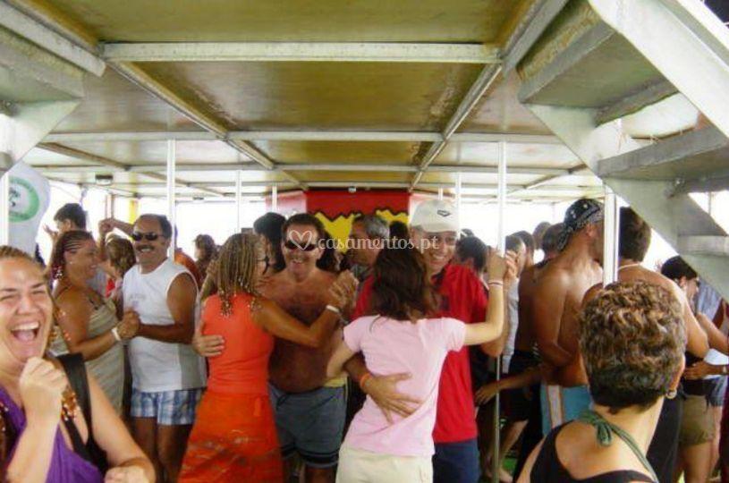 Festa em navio