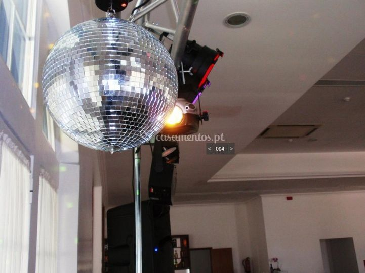 Globo discoteca
