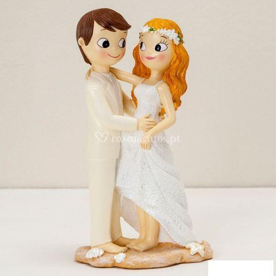 Topos bolo casamento