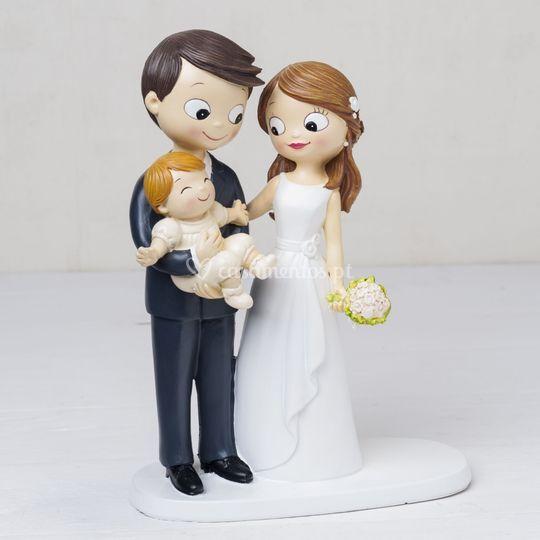 Topo bolo casamento e batizado
