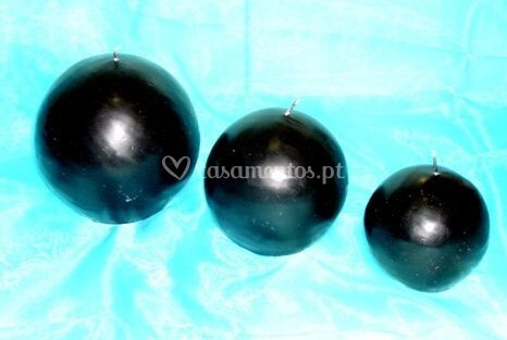 Esferas negras