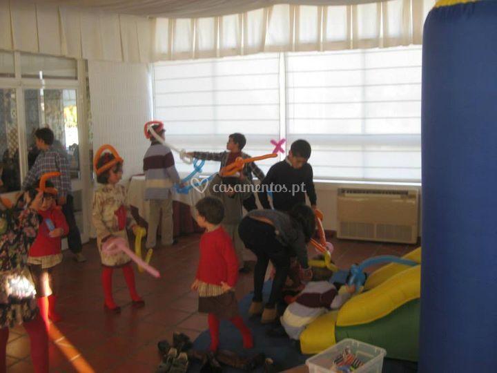 Modelagem de balões