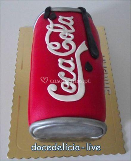 Bolo Coca Cola