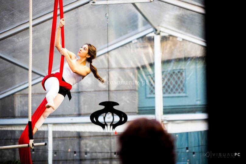 Bailarina aerea