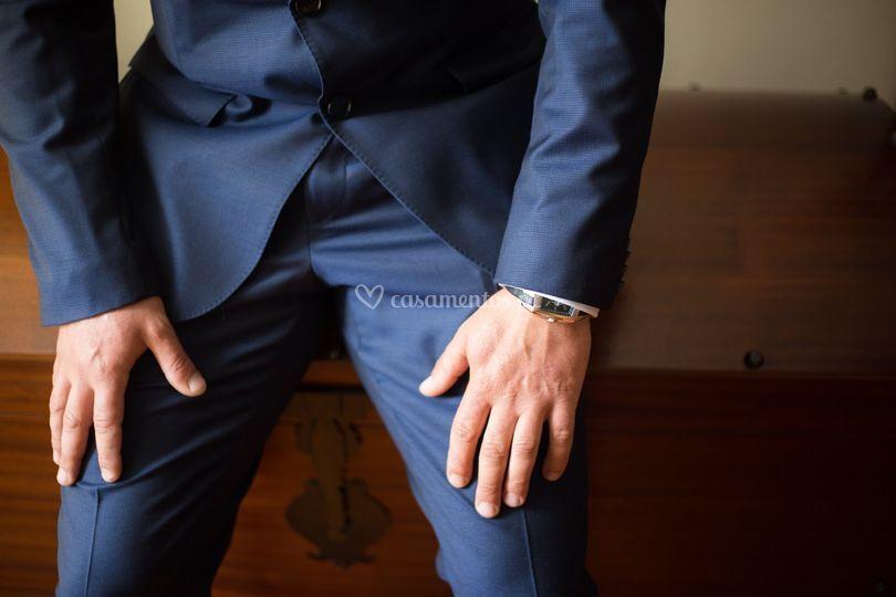 As mãos dele