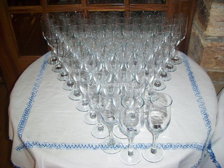 Mesa champanhe