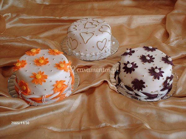 Mini bolos variados