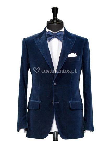 Blue Velvet Tux
