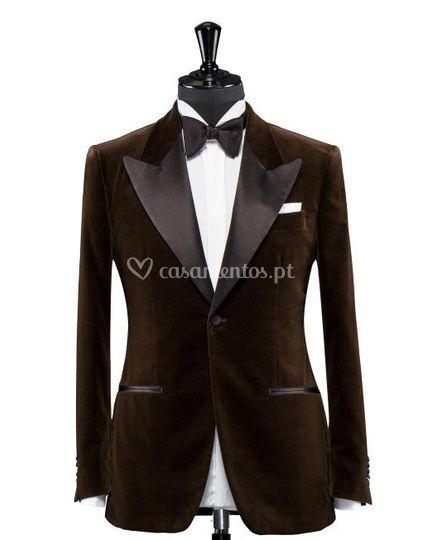 Brown Velvet Tux