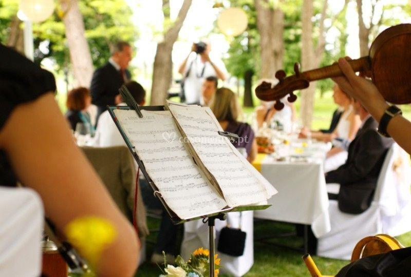 Musica para a cerimónia