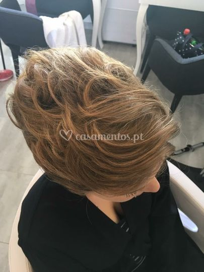 Penteado noiva / com extensões