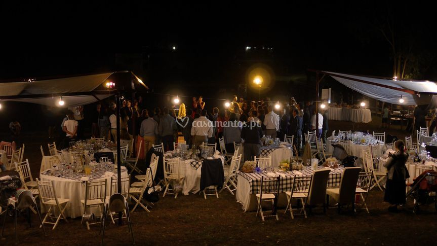 Country wedding - night