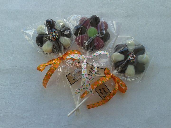 Choco-pops (tema: flor)
