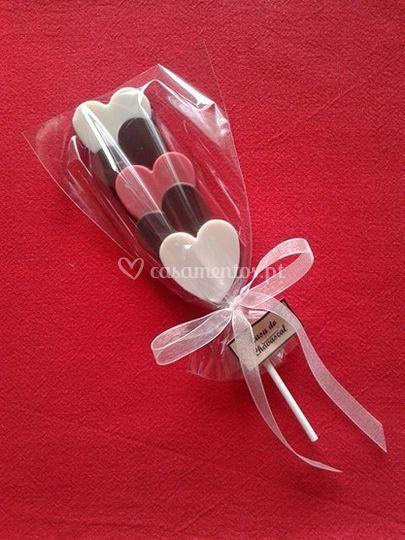 Choco-pops (tema: coração)