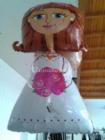 Balão noiva