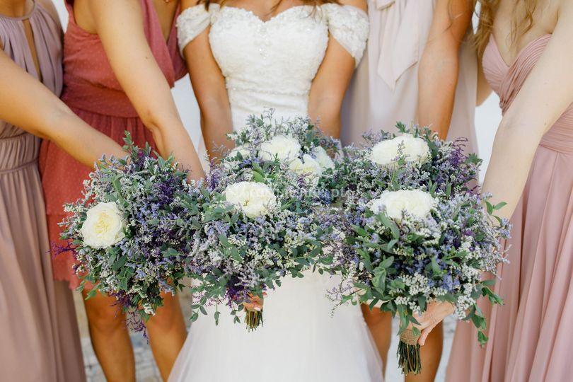 Bouquets Damas de Honor