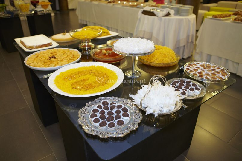 Buffet doces