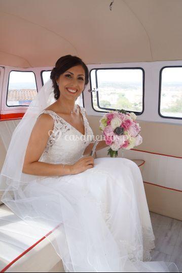A nossa noiva :)