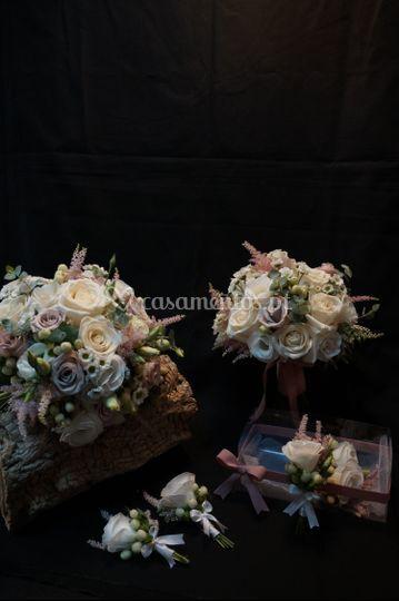 Bouquet de noiva + solteiras