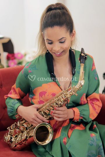 Saxofonista Diana Catarino