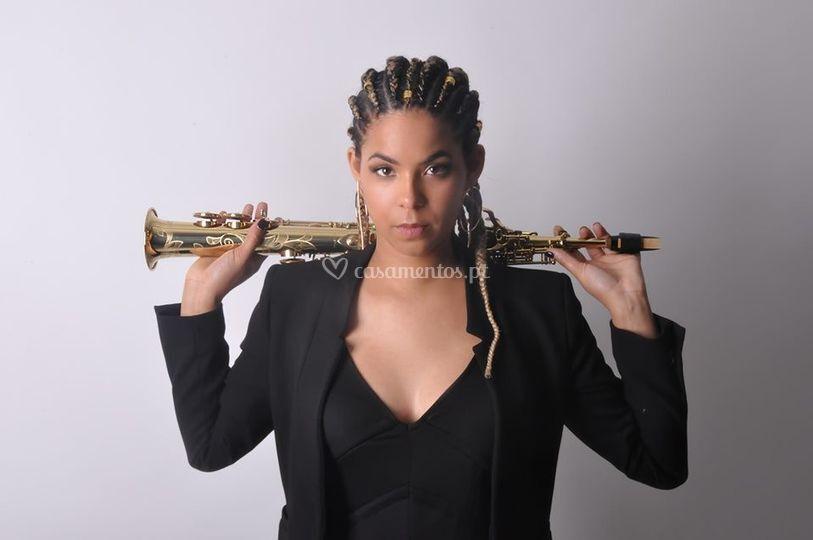 Diana Catarino Saxofonista