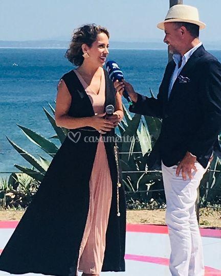 Entrevista após atuação RTP