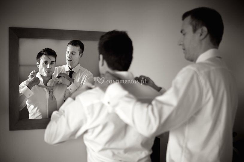 Preparação noivo