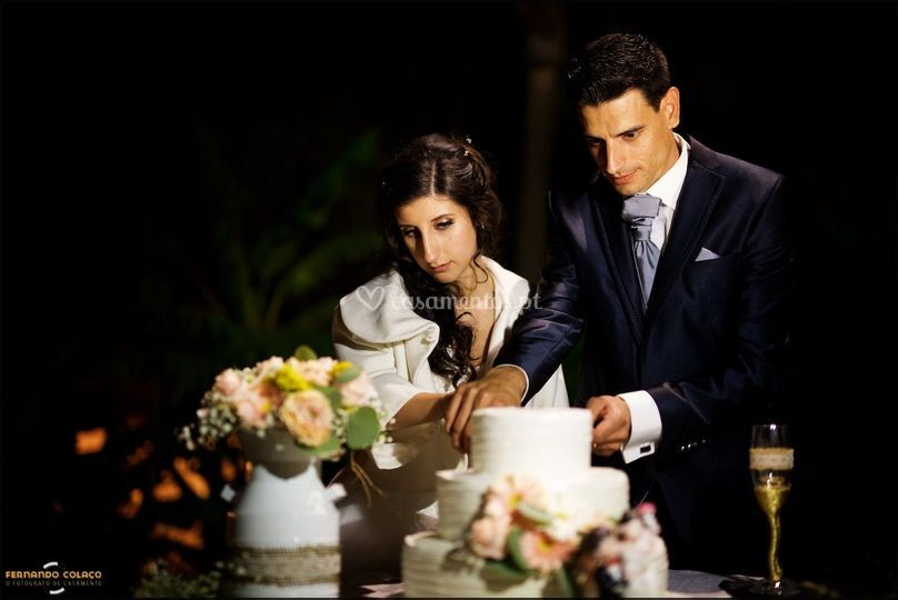 A festa do casamento