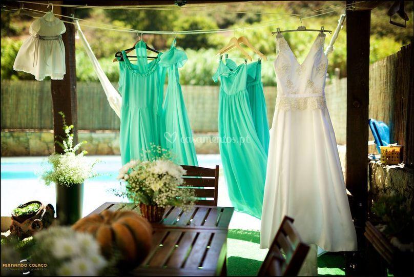 Preparação dos noivos
