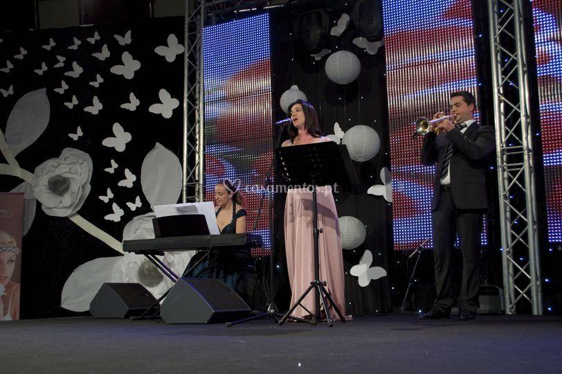 Piano, Soprano & Trompete