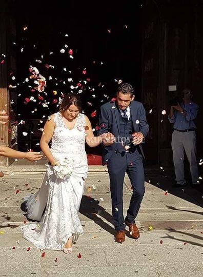 Feedback vestido de noiva