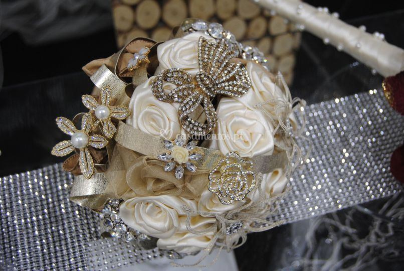 Bouquet de biju