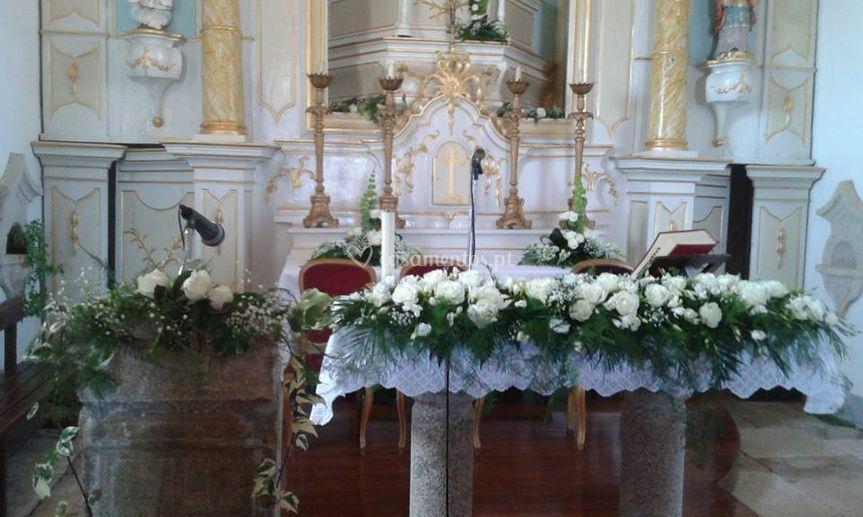 Aranjo em altar