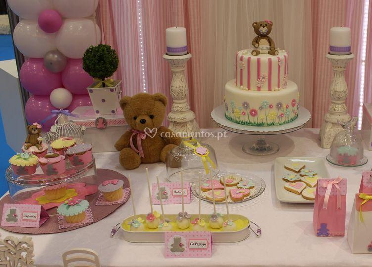 Bolachas, pop cakes e cupcakes