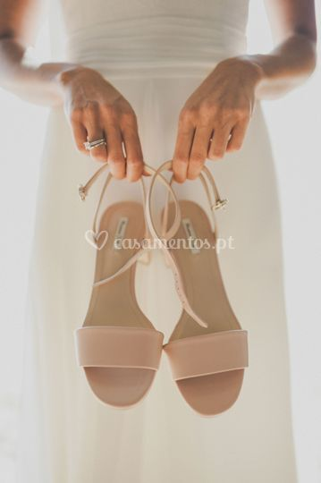 Bride shoes by invade