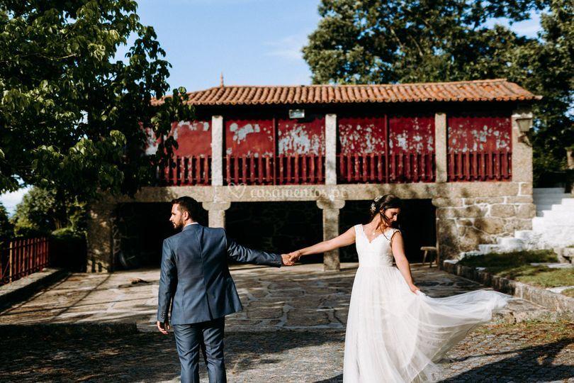 Casal elegante Quinta da Poça