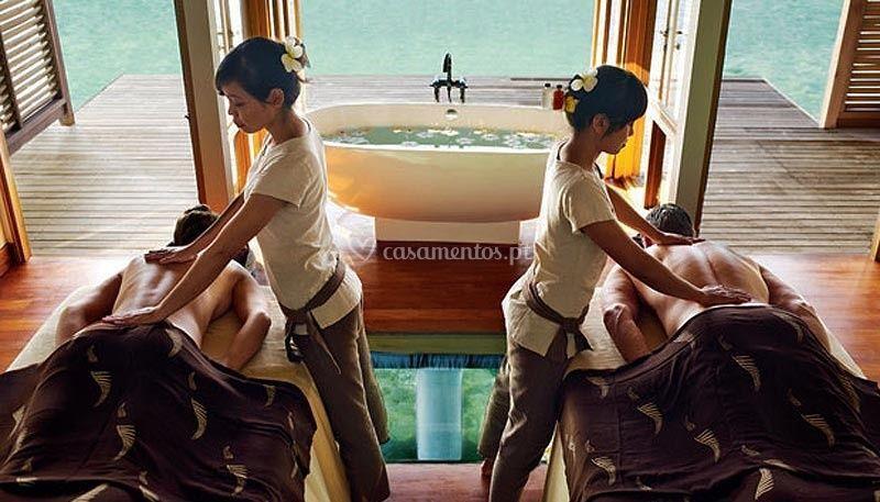 Spa massagem