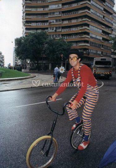 Show com monociclo