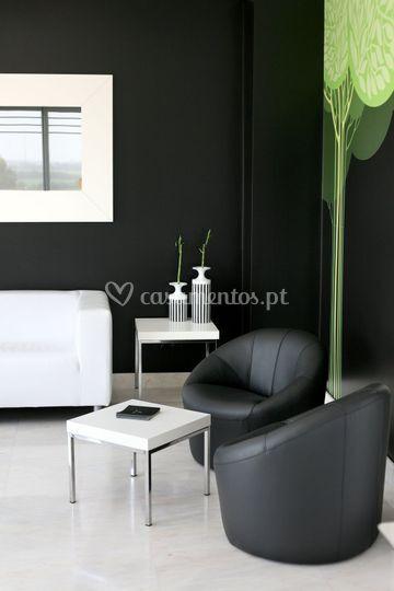 Sala de estar - restaurante