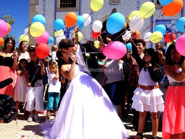 Largada balões