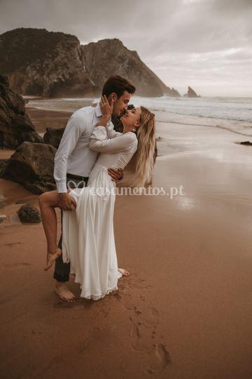 Foto sessão, casamento, noiva