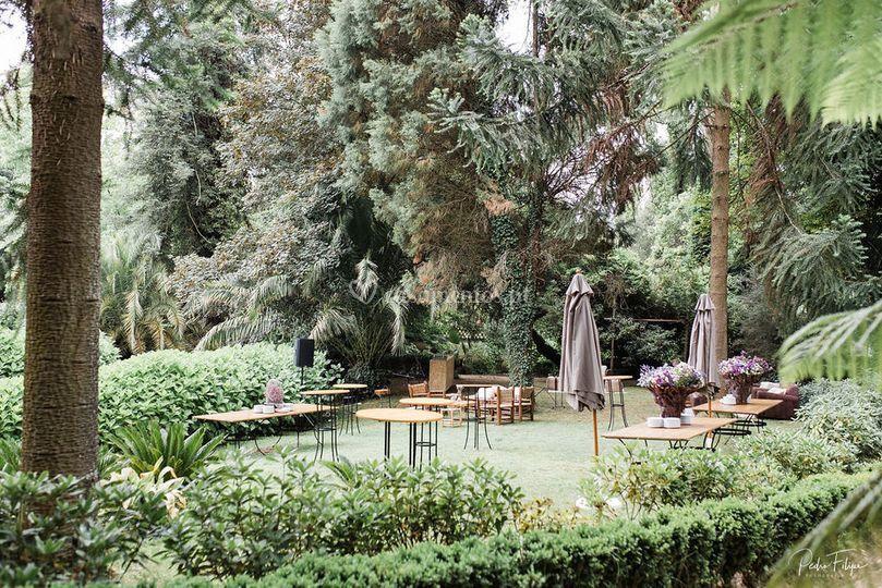 Jardim para cocktail