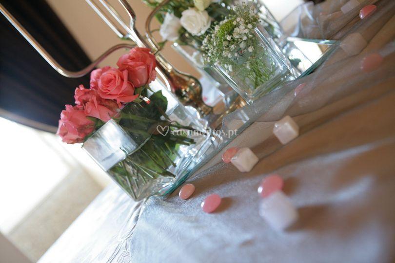 Arranjos florais lindos