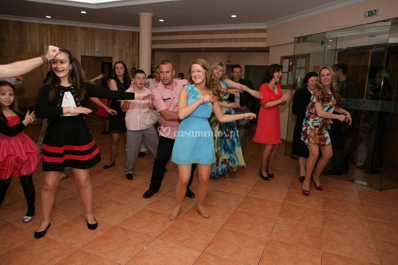 Dança no salão