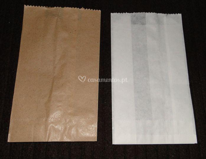 Sacos de papel 8x15 cada
