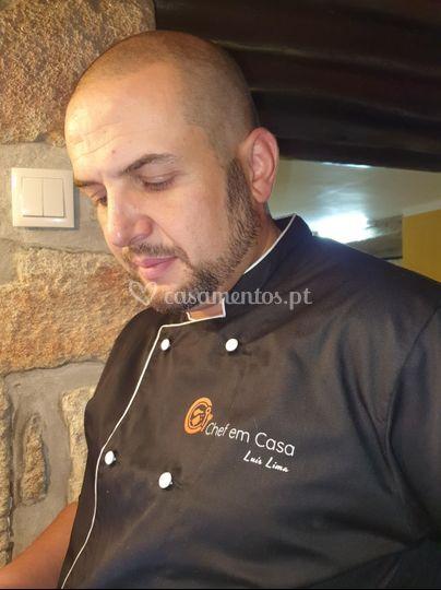 O Chef Luís Lima