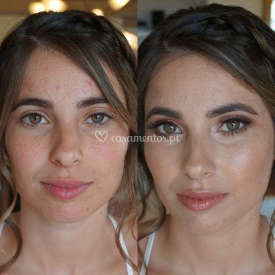 Noiva Marina, antes e depois