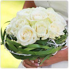 Bouquet de Noiva Rosas Brancas