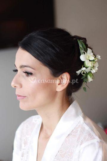 Cabelos  makeup noiva